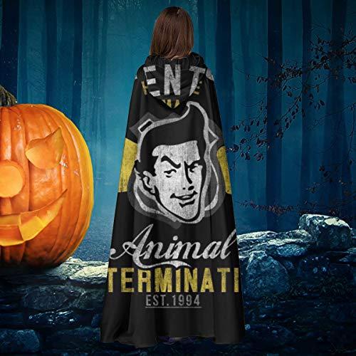AISFGBJ Ace Venturas Disfraz de Vampiro con Capucha, Disfraz de Bruja de Halloween Unisex