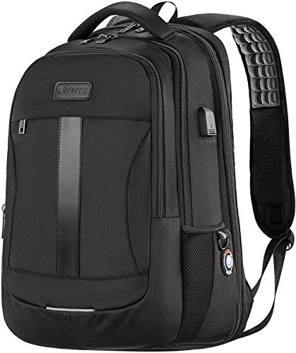 Laptop Backpack, Sosoon Travel Backpack with USB Charging Port, High School...