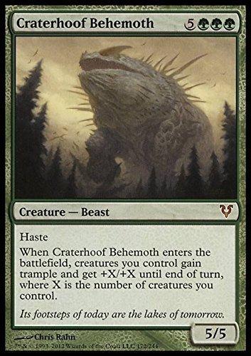 Magic The Gathering - Craterhoof Behemoth (172) - Avacyn Restored