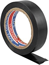 uxcell Black Adhesive Electric Wire Wrapping Insulating Tape