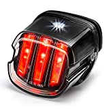 Tail Light for Harley [Eagle Claw Design] DOT Approved Brake Running Lights Motorcycle LED Taillight Compatible with Harley Sportster Dyna Softail Touring Road Glide Road King, 1 PCS