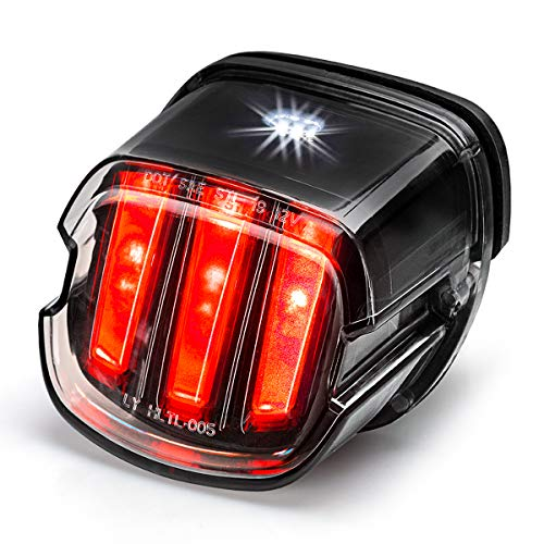 led tail lights Tail Light for Harley [Eagle Claw Design] DOT Approved Brake Running Lights Motorcycle LED Taillight Compatible with Harley Sportster Dyna Softail Touring Road Glide Road King, 1 PCS