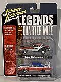 Johnny Lightning Quarter Mile 1970 Dodge Challenger 1970 Plymouth Superbird 1:64 JLPK011