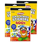 Includes (3) Fun & Reward Stickers Booklets Promotes effective positive reinforcement Great for reward systems Use for potty training or chores Great for scrapbooking