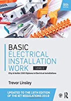 Basic Electrical Installation Work, 9th Edition Front Cover