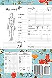 Zoom IMG-1 diario alimentare 90 giorni agenda