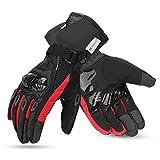 kemimoto Winter Motorcycle Gloves, Waterproof Warm...
