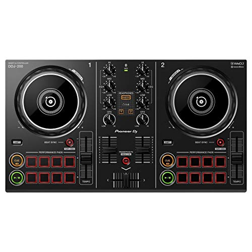 Pioneer DDJ-200 Smart Controller Console pour DJ Bluetooth 2 canaux