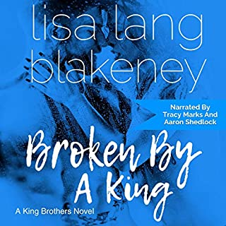 Broken by a King audiobook cover art