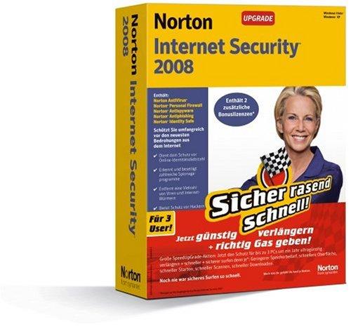 Norton Internet Security 2008 3 Benutzer Upgrade deutsch* - Aktionsware