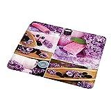 Maus Padxl Home Decor Kollektion, Aromatisches Spa mit lila Blütenblättern Frische Therapieöle...