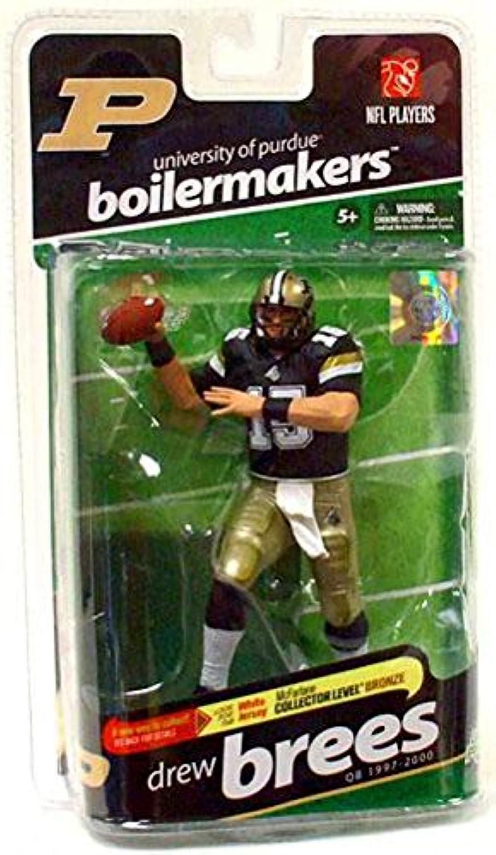 McFarlane Sportspicks  NCAA Football Series 2 Drew Brees (Purdue Boilermakers) Action Figure