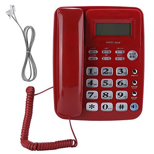 Weikeya Teléfono, Abdominales sí Aprox. 664g Puerta Teléfono Equipo por Oficina Casa Familia Negocio