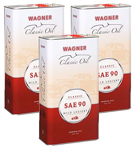 3X Wagner SPEZIALSCHMIERSTOFFE Getriebeöl Oldtimer-Getriebeöl SAE 90 5 L Liter