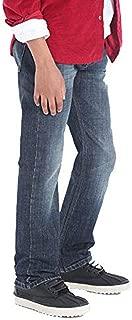 Wrangler Boys' 5 Pocket Dusky Straight Fit Jeans - Dark Blue