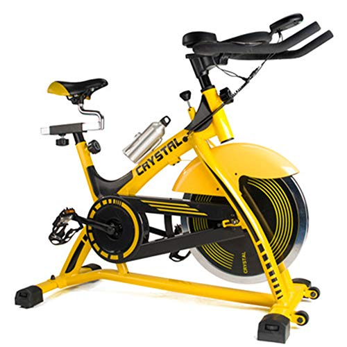 Review DELGC Indoor Spinning Bicycle Ultra-Quiet Gym Fitness Indoor Spinning Bicycle Exercise Bike S...
