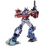 MU Transformers Optimus Prime IDW Versión 3D Kits de Metal DIY Ensamble Puzzle Corte Láser Jigsaw Toy YM-L080