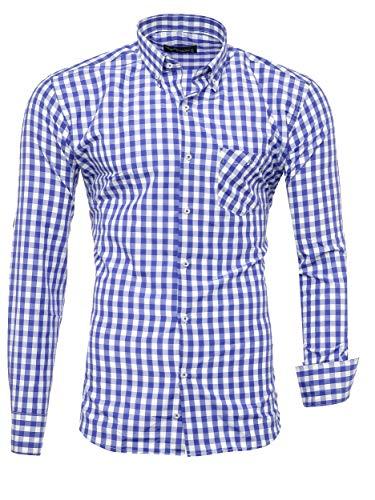 Kayhan Hombre Camisa, K-2014 Blue (XXL)