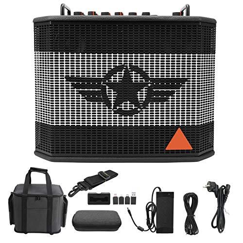 Amplificador de guitarra de 120 W Altavoz Amplificador de guitarra eléctrica Bluetooth...