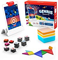 Osmo - Genius Starter Kit for iPad - 5 Educational Learning Games - Ages 6-10 - Math, Spelling, Creativity & More - STEM...
