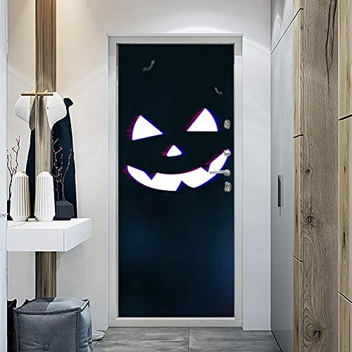 Halloween Decoration Horror Personality PVC Wall 3D Door Sticker Patch Decal