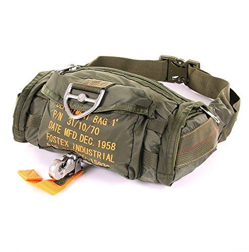Fostex Garments, Gürteltasche militärischen Sport para Bag 1, grün
