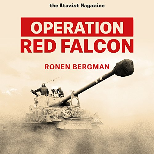 Operation Red Falcon audiobook cover art