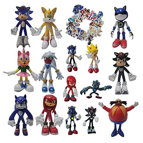 Traje de Sonic Un conjunto de nueve manos grandes para hacer + un juego de seis manos pequeñas para hacer supersonic Mouse Hand Office