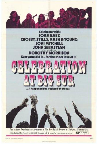 Celebration at Big Sur Poster Movie 11x17 Joan Baez David Crosby Mimi Farina Edwin Hawkins