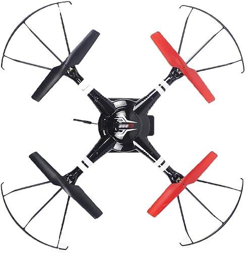 Drone WIFI Caméra Antenne PA Composants électroniques Charge FonctionneHommest De La Télécomhommede, Atterrissage à Un Bouton, Mode Sans Tête, Fonction De Réglage De La Pression Atmosphérique , Noir Rouge