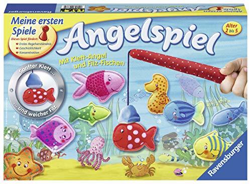Ravensburger 22337 - Mein erstes Angelspiel - Angeln für Kinder, Fische fangen für 2-4 Spieler ab 2-5 Jahren