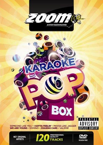 Zoom Karaoke Pop Box Party Pack - 4 DVD Box Set - 120 Songs