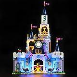 LIGHTAILING Conjunto de Luces (Princesas Disney Castillo de Ensueo de Cenicienta) Modelo de Construccin de Bloques - Kit de luz LED Compatible con Lego 41154 (NO Incluido en el Modelo)