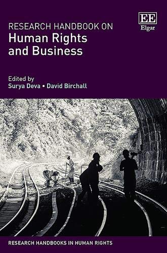 Research Handbook on Human Rights and Business (Research Handbooks in Human Rights)