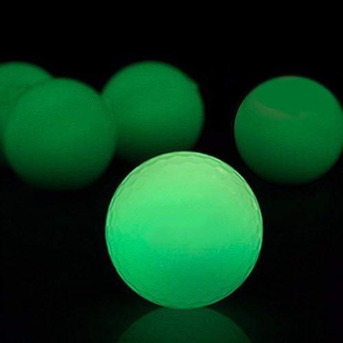VinBee 12 Pack Luminous Night Golf Balls Glow in The Dark