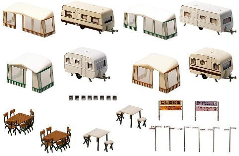 Faller 130503 Set of Camping Caravans by Faller
