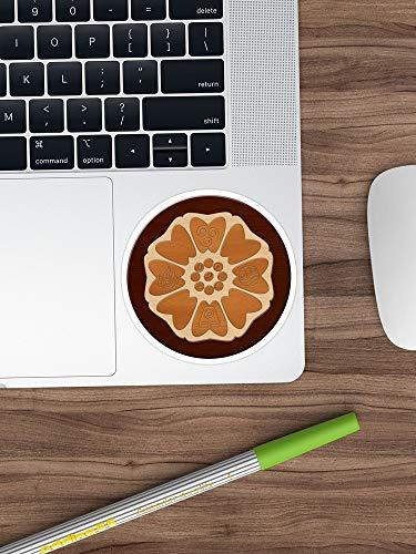Bestel Van De Witte Lotus Sticker Vinyl Sticker Voor Auto's, Vrachtwagens, Waterfles, Gitaar, Koelkast, Laptops Stickers- 4 Inches
