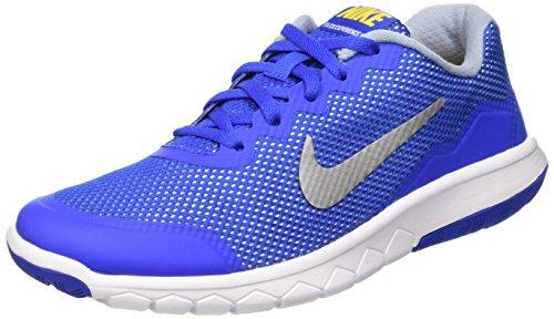 Nike Jungen Flex Experience 4 (Gs) Laufschuhe, Azul / Plateado (Hypr Cblt / Mtllc Slvr-Vrsty Mz), 38 EU