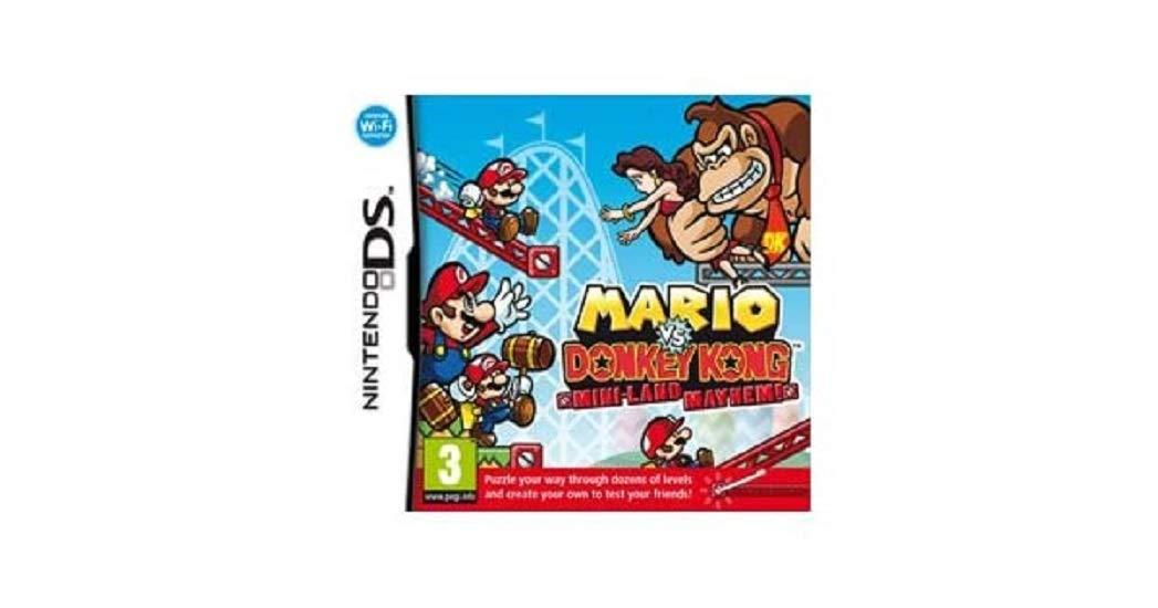 Mario New sales vs. Deluxe Donkey Mayhem Kong Mini-Land