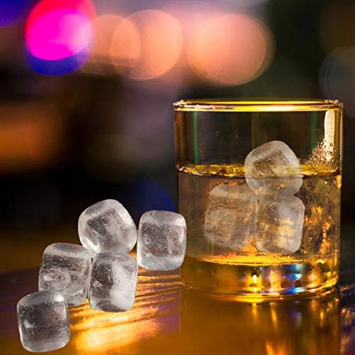 SHEDE pcs Piedras de Whisky Whisky Stones para Enfriar su Whisky Vino y Otras Bebidas Cubos de Hielo reusables para Bebidas de Whisky Vino y Ginebra y tónico 2019 skilful