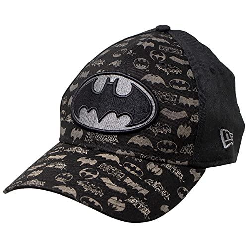 New Era Batman 39Thirty - Gorra grabada con láser - negro -...