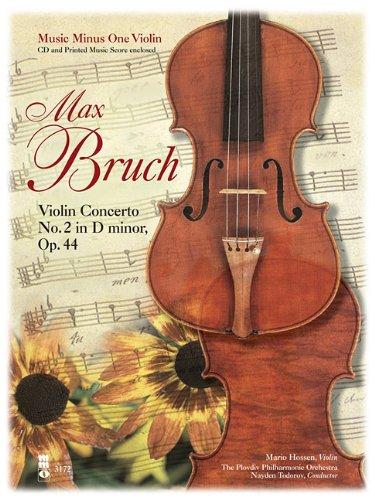 Bruch Violin Concerto No. 2 in D Minor, Opus 44