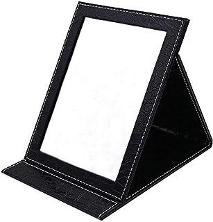 آینه تاشو رومیزی Oneuo ، آینه تاشو قابل حمل تاشو ، میز آینه ای با پایه مخصوص لوازم آرایشی زیبایی شخصی ، آینه آرایش