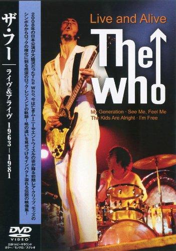 ザ・フー ライヴ&アライヴ 1963-1981 PSD-2037 [DVD]