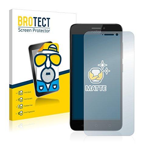 BROTECT 2X Entspiegelungs-Schutzfolie kompatibel mit TP-Link Neffos Y5s Bildschirmschutz-Folie Matt, Anti-Reflex, Anti-Fingerprint