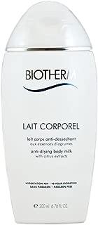 Biotherm Lait Corporel Anti-Drying Body Milk, 6.76 Ounce