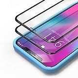 Bewahly Panzerglas Schutzfolie für iPhone XS/X/11 Pro [2 Stück], 3D Full Screen Panzerglasfolie 9H...