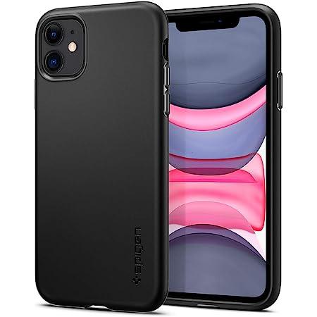 Spigen Funda Thin Fit Pro Compatible con iPhone 11 - Negro