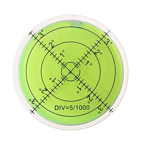 ILS - 60 mm grote geest waterpas grad-merk oppervlak rondmess bulls ogen