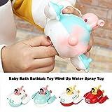 ZSLGOGO Juguete para bañera de baño para bebés Juguete Wind Up Water Spray niños de Juguete para niños - 1pcs